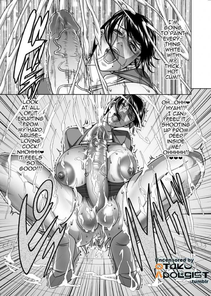 uncensored futanari manga